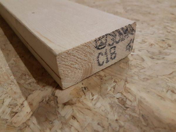 cls sls blank hout regel balk vuren 38x89 mm