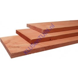 Douglas plank 22 x 200 mm blank onbehandeld fijnbezaagd-0