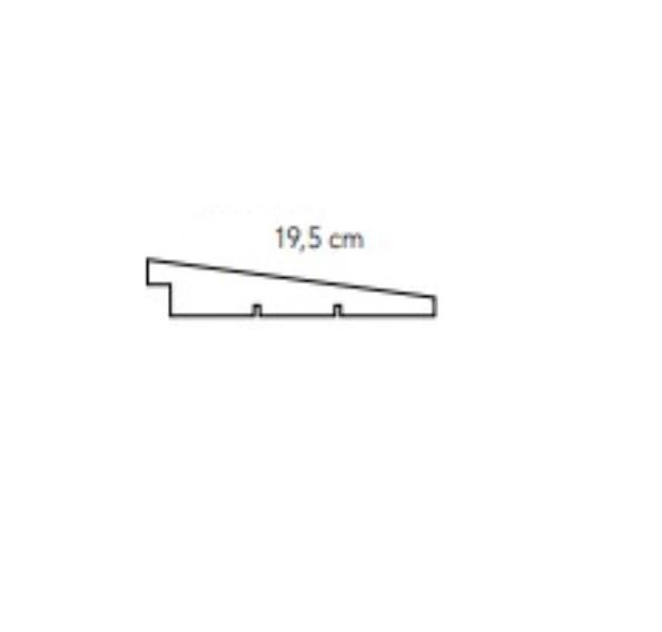 Zweeds Rabat Douglas blank onbehandeld 195 mm breed (180 mm werkend) zeer beperkt leverbaar informeer EERST-2804