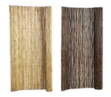 Bamboescherm op rol stokken ca. 2 cm dik-0