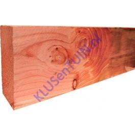 Balk / ligger Douglas 75 x 225 mm fijnbezaagd blank -0