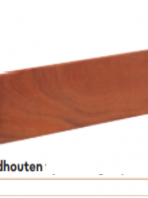 Hardhout schuttingplanken