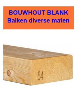 Balken bouwhout blank